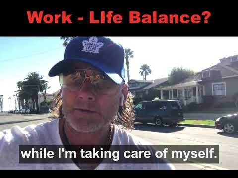 Building Work - Life Balance