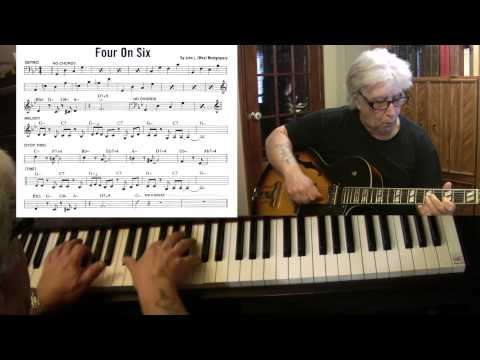 Four On Six - guitar & piano jazz cover - Yvan Jacques