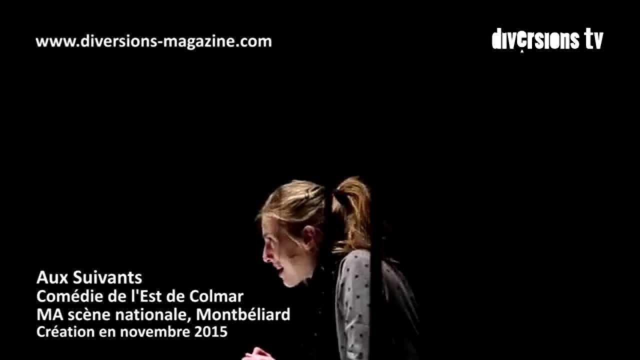 """Reportage spectacle """"Aux Suivants"""" de Charlotte Lagrange (La Chair du monde)"""