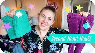 Second Hand Kids Clothes Haul- Boys and Girls! | MOTHERHOOD