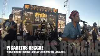 WAR/NO MORE TROUBLE - BOB MARLEY cover PICARETAS REGGAE