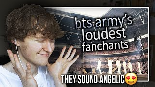 Download THEY SOUND ANGELIC! (BTS ARMY's Loudest Fanchant Moments | Reaction/Review)