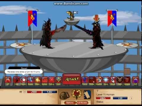 DragonFable DoomKnight Level 80