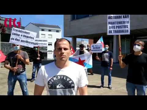 """Protesta da CIG en Burela e Xove contra o """"desmantelamento"""" da fábrica de Alcoa"""