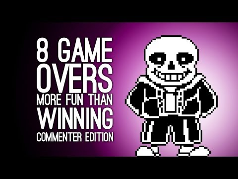 8 Times a Game Over was More Fun than Winning: Commenter Edition