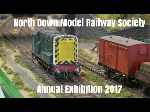 North Down Model Railway Society Annual Exhibition 2017 4k