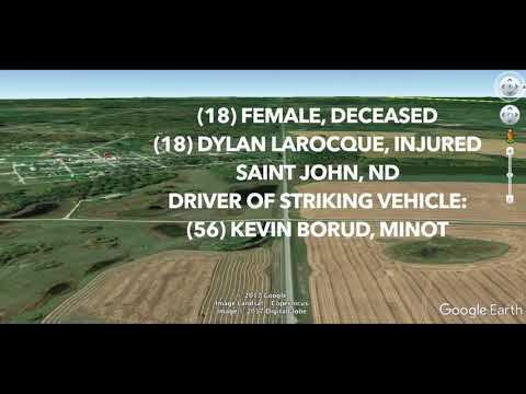 Fatal Crash ID: (18) Taitum Eller, Saint John, ND