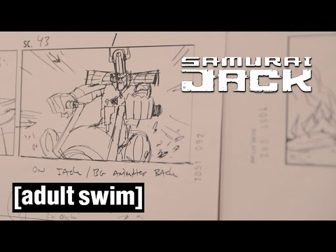 behind-the-scenes:-the-making-of-season-5-|-samurai-jack-|-adult-swim