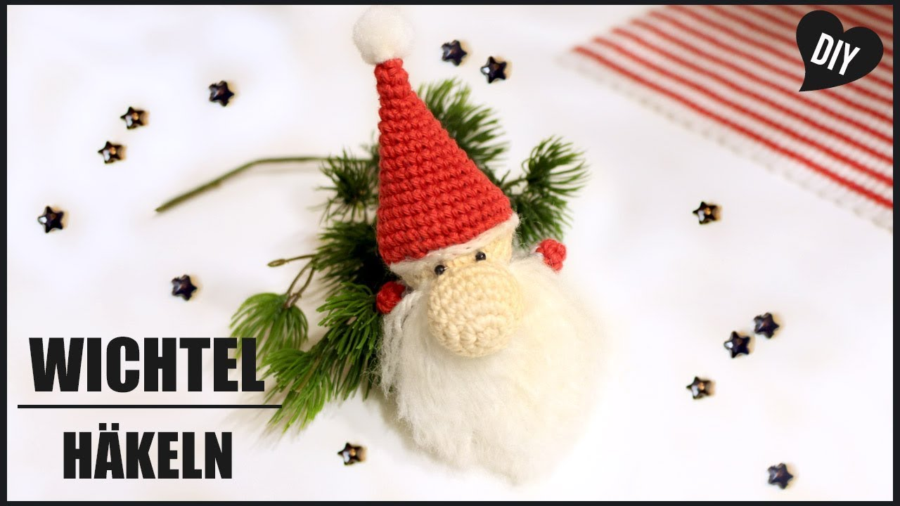 Wichtel Häkeln Weihnachtswichtel Häkelanleitung Amigurumi Diy By
