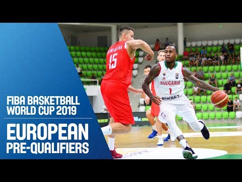 Bulgaria v Belarus - Full Game - FIBA Basketball World Cup 2019 - European Pre-Qualifiers