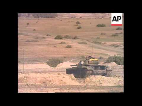 CYPRUS: TURKISH TROOPS UNDERTAKE MILITARY EXERCISES
