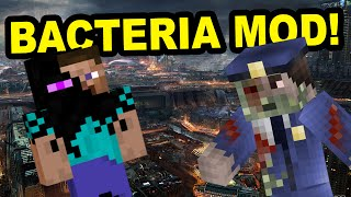 Minecraft | BACTERIA MOD! | Entire city Infected!