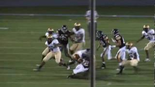 Gray King, Marist Varsity Football Highlights Through 2011, Junior RB, KR, PR, DB, ATH