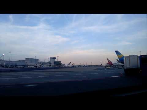 Frankfurt airport shuttle across the airport