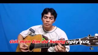 Xin Gọi Nhau Là Cố Nhân Karaoke Guitar Phan Anh Toàn
