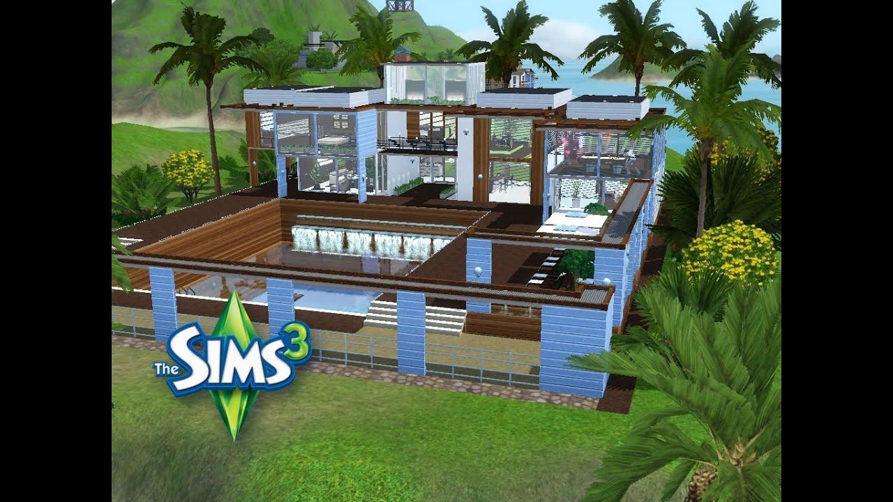 Sims 3 haus bauen lets build partylokation für single mann im inselparadies