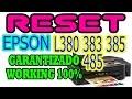 ★ ☆ ADJPROG reset epson L380 o L395  L495 ★ ☆ waste ink pad reset Repara almohadillas