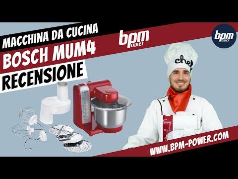 Bosch MUM4, una macchina da cucina piena di accessori!