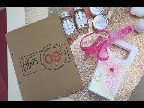 Tonic Craft Kit 09 - Art Deco Box