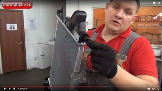Радиатор Дэу Матиз: Часть 2, замена радиатора.