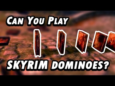 Can You Play Dominoes in Skyrim VR? (HIGGS Mod) |