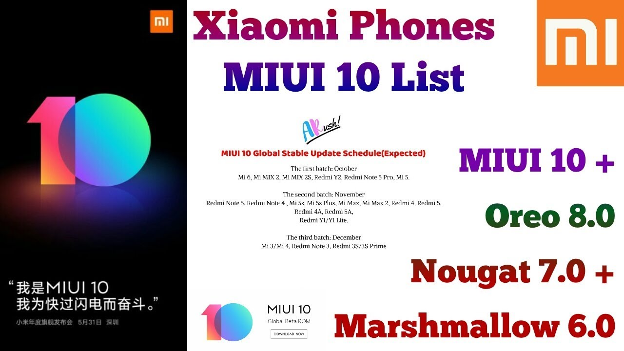Miui 10 Update Download