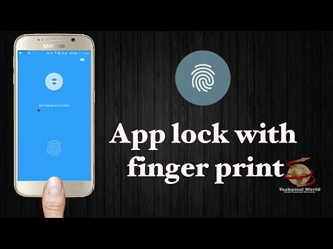 [Hindi] App lock with fingerprint and password for Android