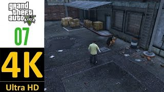 [4K]:Grand Theft Auto V Walkthrough Part 7-Chop(100% Gold/No Damage For Characters)