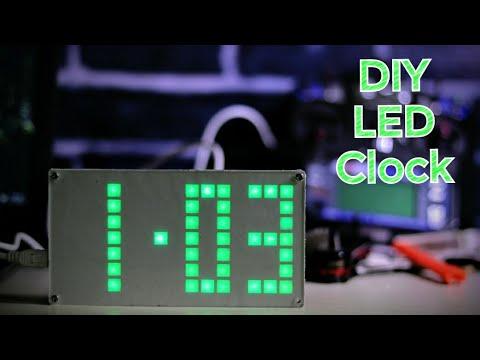 Wow! Amazing DIY Led Clock