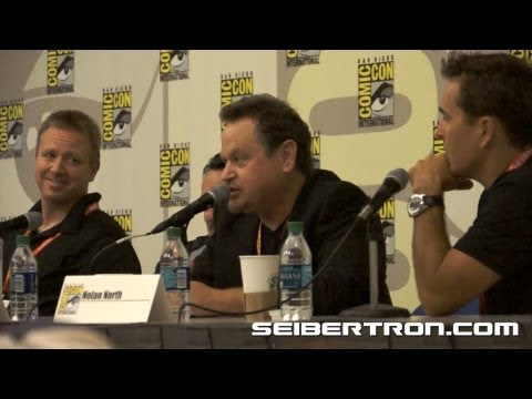 Activision Transformers Fall of Cybertron Panel featuring Video Game Talent at SDCC 2012 6\/8