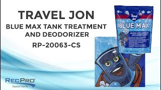 RV Travel Jon Blue Max RV Tank Treatment