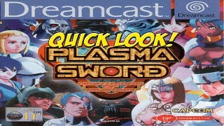 Dreamcast: Plasma Sword! Quick Look - YoVideogames