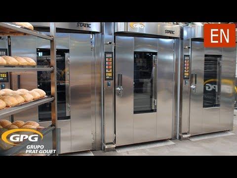 Rack thermal oil STATIC PLUS baking oven | GPG GRUPO PRAT GOUET