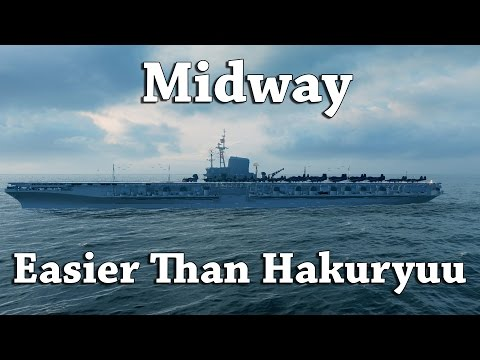 WoWS: Midway - Easier Than Hakuryu