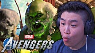 Marvel's Avengers - PRIMO sguardo al DLC Occhio di Falco !! [REAZIONE]