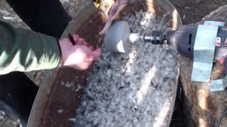 видео Как ощипать утку в домашних условиях: быстро и легче