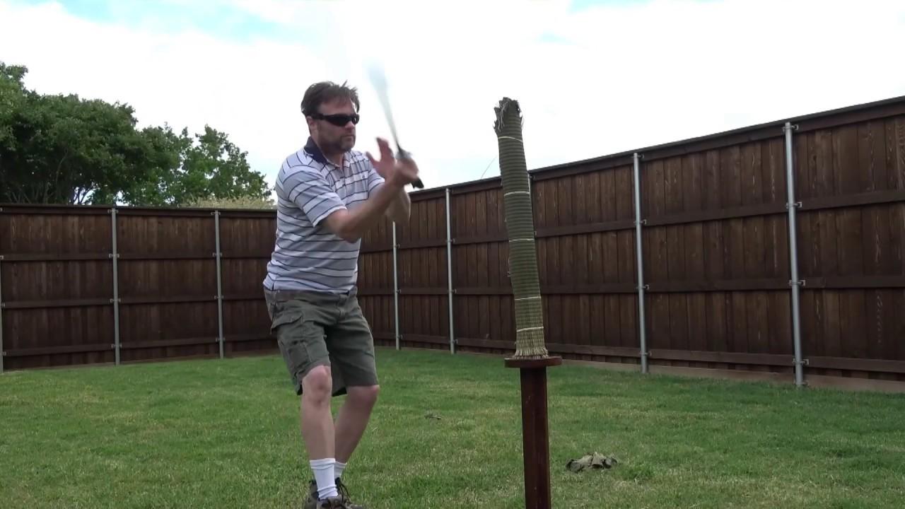Sword Cutting number 1 strike with broken footwork