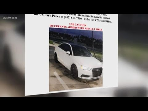 US Park Police pin hopes of solving shooting on car description