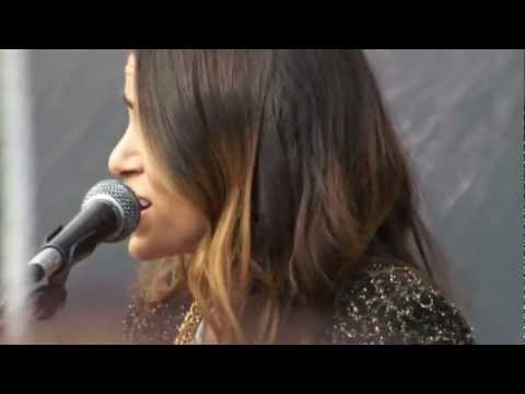 "Twilight Saga's Nikki Reed & Paul Mcdonald [HD] ""The Best Part"" Tent City Concert (11-10-12)"