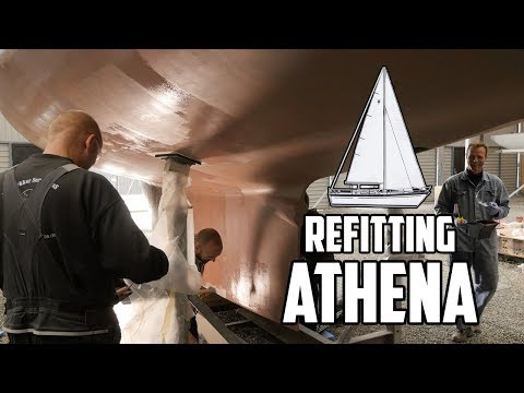 Sail Life - Coppercoat antifouling - DIY sailboat refit