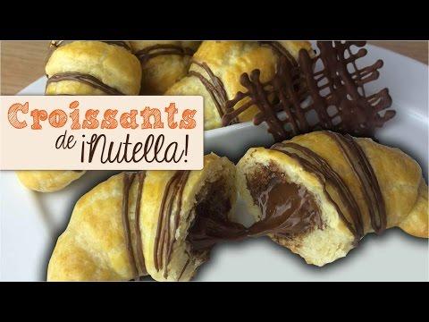 CUERNITOS DE NUTELLA -  MINI CROISSANTS | DACOSTA'S BAKERY