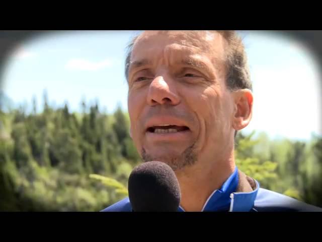 Véloroute-des-Baleines, message d'un ambassadeur du vélo, Yvan Martineau