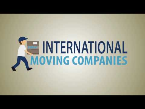 International Moving Companies & Overseas Movers