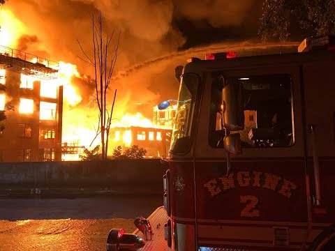 Waltham Fire 8th Alarm + 169 Elm St July, 23rd 2017 with Video