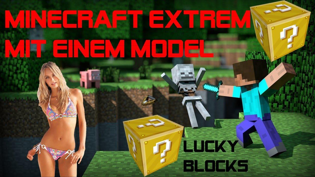 Minecraft Spielen EXTREM Mit Einem Model Lets Play Minecraft - Minecraft an spielen