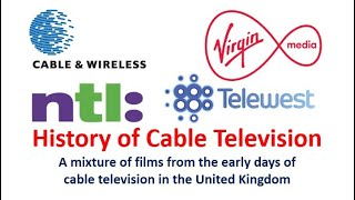 History of Cable TV in the UK - Launch of Sky Channel, How it all Works and Promotional Films