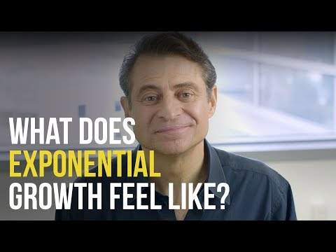 What Does Exponential Growth Feel Like?