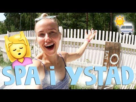 Vilket drömställe! Spa i Ystad | HUSBILSTURNÉN #7