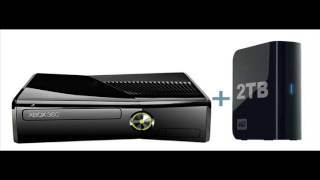 XBOX 360 gets upgrade to support 2TB hard drive storage