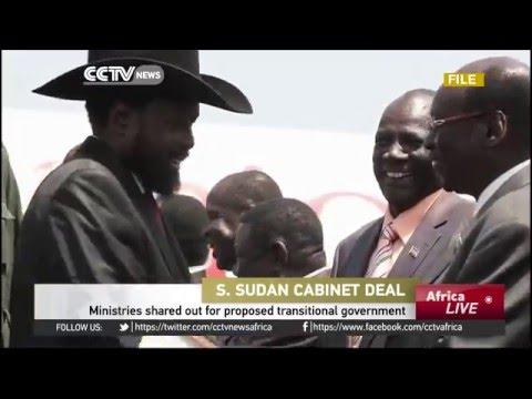 South Sudan Cabinet deal